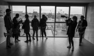 reportage médialab à la Cité Modèle